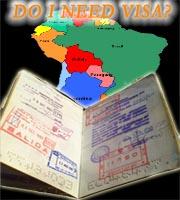 Do I need visa to travel to Latinoamerica?
